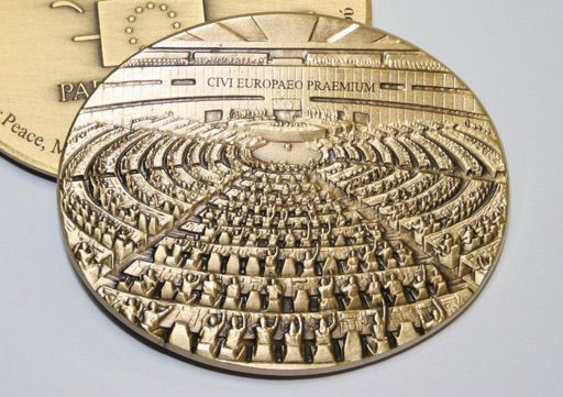 The European Citizen's Prize medal
