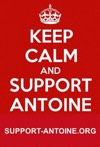 Keep calm and support Antoine!