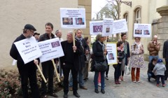 Demonstration in support of Antoine